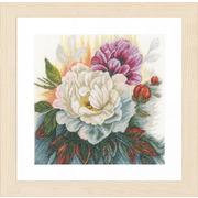 """Набор для вышивания крестом LANARTE """"White rose"""""""