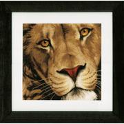 """Набор для вышивания крестом LANARTE """"King of animals"""""""