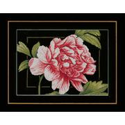 """Набор для вышивания крестом LANARTE """"Pink rose"""""""