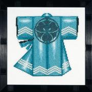 """Набор для вышивания крестом LANARTE """"Kimono - Blue"""""""