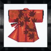 """Набор для вышивания крестом LANARTE """"Kimono - Red"""""""