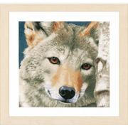 """Набор для вышивания крестом LANARTE """"Wolf"""""""