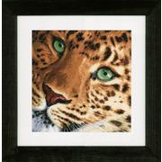 """Набор для вышивания крестом LANARTE """"Leopard"""""""