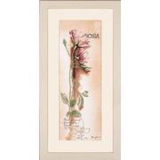 """Набор для вышивания крестом LANARTE """"Rosa - Botanical"""""""
