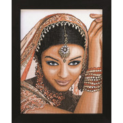 """Набор для вышивания крестом LANARTE """"Indian Model"""""""