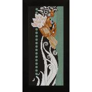 """Набор для вышивания крестом LANARTE """"African Lady with Flowers"""""""