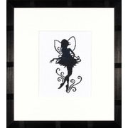 "Набор для вышивания крестом LANARTE ""Cute Little Fairy Silhouette"""