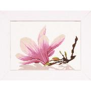 """Набор для вышивания крестом LANARTE """"Magnolia Twig With Flower"""""""