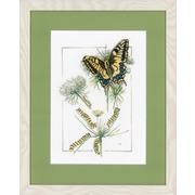 "Набор для вышивания крестом LANARTE ""From Caterpillar to Butterfly"""