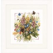 """Набор для вышивания крестом LANARTE """"Summer bouquet"""""""