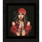 """Набор для вышивания крестом LANARTE """"Gypsy girl"""""""