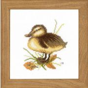 """Набор для вышивания крестом LANARTE """"Duckling II"""""""