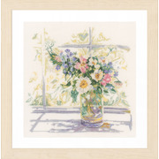 """Набор для вышивания крестом LANARTE """"Bouquet of Flowers"""""""