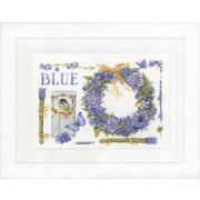 """Набор для вышивания крестом LANARTE """"Lavender Wreath"""""""