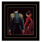 """Набор для вышивания крестом LANARTE """"Dancing passion"""""""