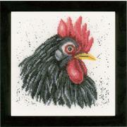 """Набор для вышивания крестом LANARTE """"Black chicken"""""""