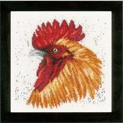 """Набор для вышивания крестом LANARTE """"Brown rooster"""""""