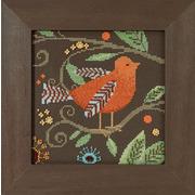 "Набор для вышивания MILL HILL ""Оранжевая птица"""