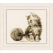 """Набор для вышивания крестом Vervaco """"Котёнок"""""""