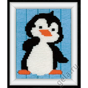 """Набор для вышивания крестом Vervaco """"Пингвинёнок"""""""