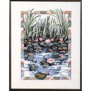 """Набор для вышивания крестом Oehlenschlager """"Водяные лилии"""""""
