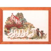 """Набор для вышивания крестом Oehlenschlager """"Гуси у моста"""""""