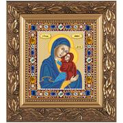"""Набор для вышивания бисером Nova sloboda """"Св.Анна с Младенцем Марией"""""""