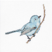 """Набор для вышивания крестом Luca-S """"Певчая птица"""""""