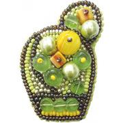 """Набор для вышивания бисером Crystal Art """"Яркий кактус"""""""