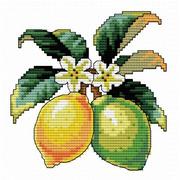 """Набор для вышивания крестом Белоснежка """"Лимончики"""""""