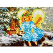 """Канва/ткань с нанесенным рисунком Каролинка """"В рождество"""""""