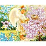 """Канва/ткань с нанесенным рисунком Каролинка """"Лучики света"""""""