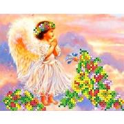 """Канва/ткань с нанесенным рисунком Каролинка """"В небе"""""""