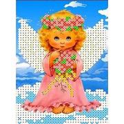 """Канва/ткань с нанесенным рисунком Каролинка """"В облаках"""""""