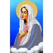 """Канва/ткань с нанесенным рисунком Каролинка """"Богородица Умиление"""""""