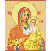 """Канва/ткань с нанесенным рисунком Каролинка """"Богородица Смоленская"""""""