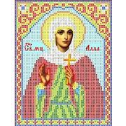 """Канва/ткань с нанесенным рисунком Каролинка """"Святая Алла"""""""