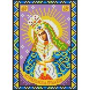 """Канва/ткань с нанесенным рисунком Каролинка """"Богородица Остробрамская"""""""