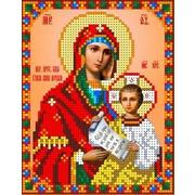 """Канва/ткань с нанесенным рисунком Каролинка """"Богородица Утоли моя печали"""""""