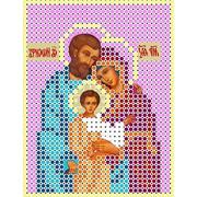 """Канва/ткань с нанесенным рисунком Каролинка """"Святое семейство"""""""