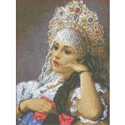 """Канва/ткань с нанесенным рисунком Каролинка """"Василиса"""""""