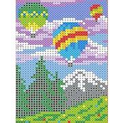 """Канва/ткань с нанесенным рисунком Каролинка """"Воздушные шары"""""""