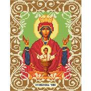 """Канва/ткань с нанесенным рисунком Божья коровка """"Богородица Неупеваемая Чаша"""""""