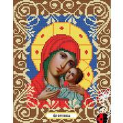 """Канва/ткань с нанесенным рисунком Божья коровка """"Богородица Корсунская"""""""