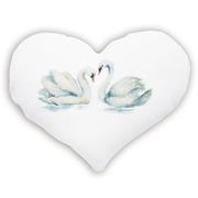 """Набор для вышивания крестом Luca-S подушка """"Лебеди"""""""