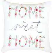 "Набор для вышивания крестом Luca-S подушка ""Home sweet home"""