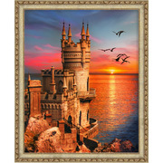 """Набор для выкладывания мозаики Алмазная живопись """"Ласточкино гнездо"""""""