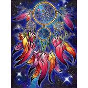 """Набор для выкладывания мозаики Алмазная живопись """"Ловец волшебных снов"""""""