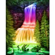 """Набор для выкладывания мозаики Алмазная живопись """"Радужный водопад"""""""