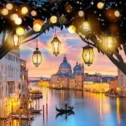 """Набор для выкладывания мозаики Алмазная живопись """"Вечерняя Венеция"""""""